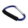 Jumbo 6.5 inch XL Carabiner Key Chain  - Blue