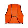 Universal Fit Disposable Safety Vest High Visibility Orange