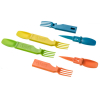 ASR Outdoor Snapatite 4 in 1 Utensil Set Lightweight Pocket-sized Cutlery 4pc