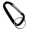 Aluminum Multi-Color Carabiner Spring Clip Keychain (Many Sizes, Colors)