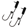 (2 Pack) Survival Fish Hooks Dual Action
