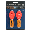 ASR Outdoor Hiking Companion Whistles Emergency Survival Tools 105 dB Rating
