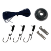 ASR Outdoor Food Procurement Survival Kit Fish Hooks Cord Snare