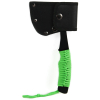 Ultra Lightweight Camping Micro Axe Hatchet Green Paracord Wrapped Handle