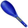 ASR Outdoor 12.5 Inch Blue Sand Scooper Heavy Duty Plastic for Metal Detecting