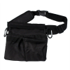 "ASR Outdoor 11"" Utility Belt and Pouch Heavy Duty Nylon 3 Pockets Carabiners"