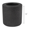 Universal Tool Graphite Crucible for Gold Melting 1.5 by 1.5 Inch