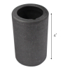 Graphite Crucible Tool for Melting Gold Silver Jewelry Making - 2.5 x 4 inch