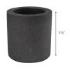 Universal Tool Graphite Crucible for Gold Melting 2.5 by 2.5 Inch