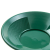 4 Pack Green 10 Inch Gold Mining Pan for Gold Prospecting 2 Riffle Types