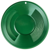 ASR Outdoor 14 Inch Green Gold Rush Gravity Trap Gold Pan Up Close