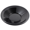 ASR Outdoor Black 14 Inch Gold Mining Pan for Gold Prospecting 2 Riffle Types
