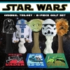 Star Wars Classic Trilogy Set Golf Head Covers & Towel Set 8 Piece Set