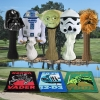 Star Wars Classic Trilogy Set Golf Head Covers & Towel Set On the Green