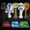 Star Wars Classic Trilogy Set Golf Head Covers & Towel Set Black Background