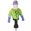 Golf Head Cover Dark Knight Riddler 460cc Driver Wood Sporting Goods Headcover
