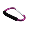 Jumbo Aluminum Carabiner 7 Inch Cushion Grip Handle 6 Colors