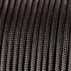 550lbs Strength Survival Paracord Rope Camping Hiking Black - 25ft