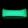 100ft Neon Green Glowing Paracord Rope 550lbs Breaking Strength Survival Cord