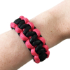 ASR Outdoor - Paracord Bracelet - Pink and Black