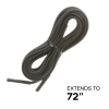 "72"" - Unique Boot Laces for Survival and Escape with Hidden Handcuff Key"