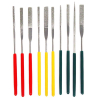 10pc Tapered Diamond File Set