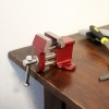 "1"" Jaw Steel Fixed Vise on Table"