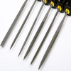 6pc Coarse Grit Precision Hobby File Tool Set Sharpening Knives Blades and Saws