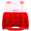 Universal 17 Compartment Small Bin Storage Container Locking Lid Portable Case