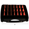 Universal 26 Compartment Small Bin Storage Container Locking Lid Portable Case