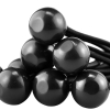 Universal Tool 100 Pack Black Stretch Cord with Black Ball 8 Inch Length