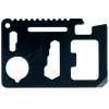 ASR Outdoor 11 in 1 Multi Function Black Credit Card Sized Tool - 5 Pack