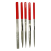 5PC Dipped Handle Diamond File Set Crafting Jewelers DIY Machinists Artisans