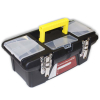 Universal Tool Dual Compartment Hobby Craft Metal Clasp Tool Box
