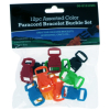 (12 Pack) ASR Outdoor Paracord Bracelet Buckle Set Assorted Colors 20mm .75 Inch