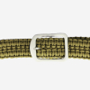 ASR Outdoor Milspec 550 Paracord Belt with Stainless Steel Buckle 52 Inch Green