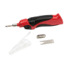 Universal Tool Cordless 8 Watt Soldering Iron Set Tip Remover and Solder Flux