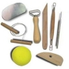 8pc Pottery Artist Clay Molding Tool Set