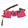 Tool Belt Pink in Use