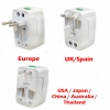 World Wide Travel Adapter Plug Surge Protector