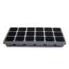 Universal Tool Liner Tray With 18 Compartments for Drawer Cabinet Organization