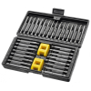 Universal Tool Chrome Vanadium Steel Tamper-Proof Drill Bits and Magnetizer Set