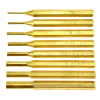 Quality 8Pc Brass Pin Punch Set Hobby Craft Woodworking