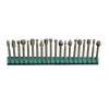 20pc Universal High Speed Burr Bit Set | 1/8 inch Shank For Rotary Tool