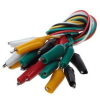 "20"" Insulated Test Leads Alligator Clips"
