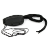 "6"" Paracord Wrapped Compact Neck Chain Knife with Sheath (Black) Tactical Outdoor"