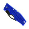 ASR Outdoor Pocket Knife 3.5 Inch Blade Diamond Plate Pattern Handle - Blue