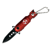 ASR Outdoor Folding Pocket Knife 1.5 Inch Blade 440 Stainless Steel - Red