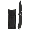 ASR Outdoor Folding Pocket Knife Drop Point Blade with Pouch