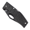 ASR Outdoor Pocket Knife 3.5 Inch Blade Utility Black Diamond Plate Pattern